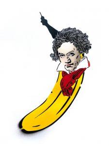 Metamorphose Beethoven-Banane