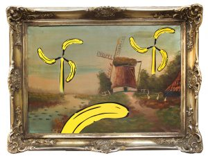 Die Mühlen der Götter am Fluss