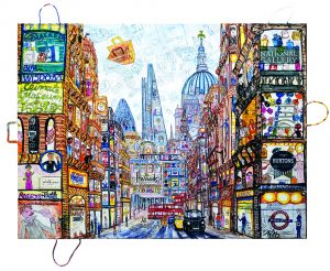 London Urban-Bag-Art-Fleetsreet