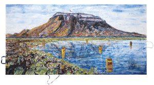 Utopien Civilization at the volcano, Herdubreid Island